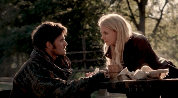 Colin O'Donoghue Jennifer Morrison Captain Hook Emma Once Upon A Time OUAT S02E05 OUAT