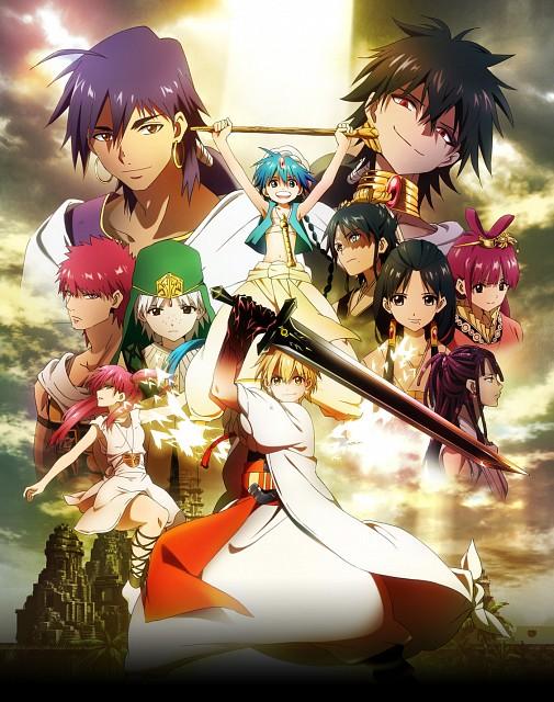 Magi-The-Labyrinth-of-Magic-2-Anime-Outono-2013-Primeiro-Artigo