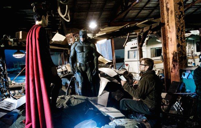 Bastidores do confronto entre os super-heróis