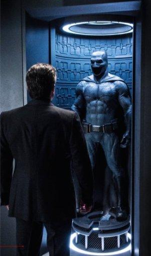 Bruce Wayne e o fato de Batman