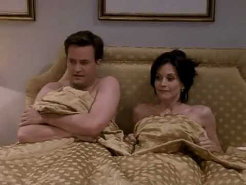 monica chandler bed