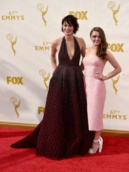 Lena Headey e Maisie Williams [Guerra dos Tronos]
