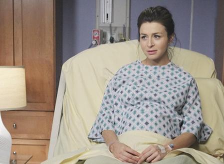 Em Clínica Privada a personagem de Caterina Scorson perdeu o bebé, mas tal aconteceu como desculpa pela gravidez da atriz.