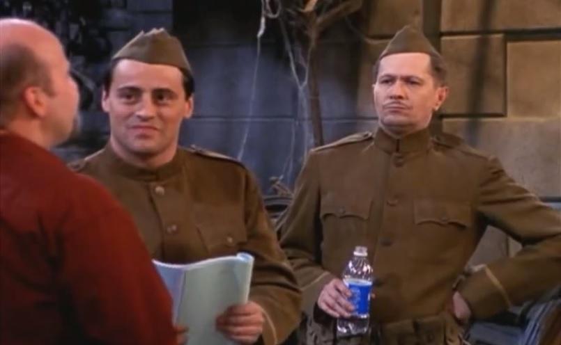 Gary Oldman apareceu em 2 episódios da 7ª temporada. Ao lado de Joey ia participar num drama de guerra.