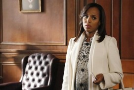 "A barriga de Kerry Washington teve de ser constantemente escondida atrás de mesas durante as gravações de ""Scandal"""