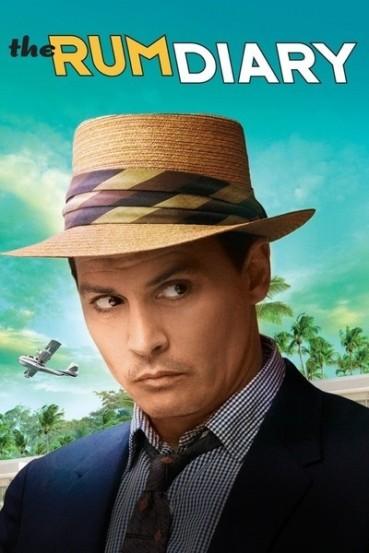 """No """"Diário de Rum"""" é habitual o ator durante o filme apresentar-se com um chapéu, muito adequado à sua imagem e com uns óculos de sol."""