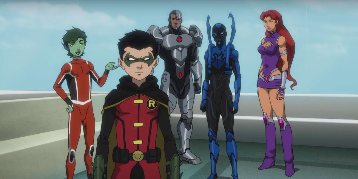 Justice Leaguevsteentitans-1