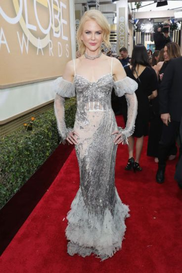 Nicole Kidman em Alexander McQueen Getty