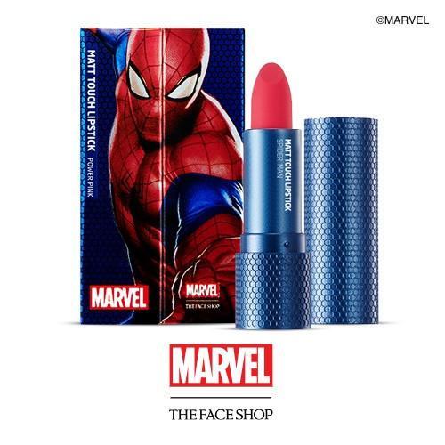 Batôm Homem-Aranha em vários tons.