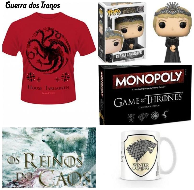 Merchandising Guerra dos Tronos