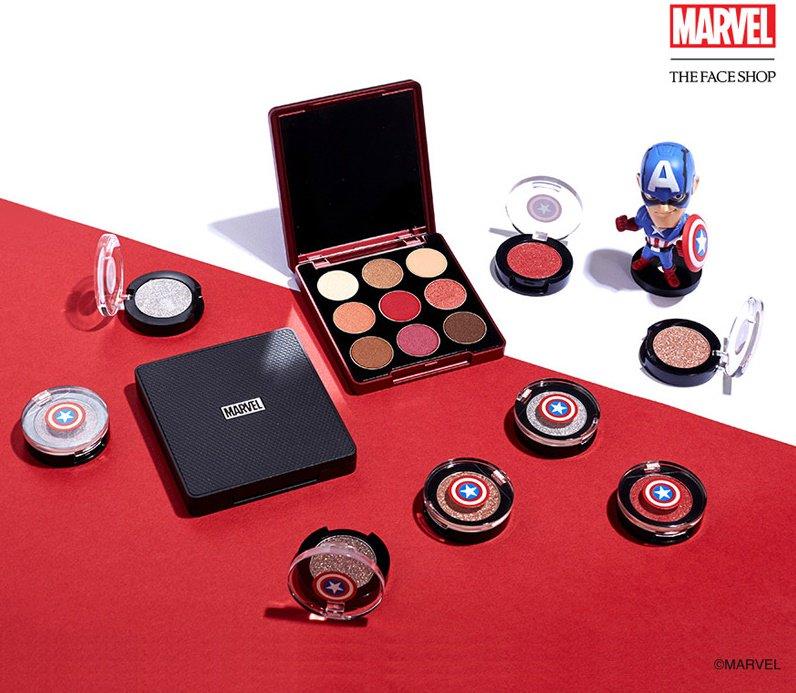 Maquilhagem da Marvel