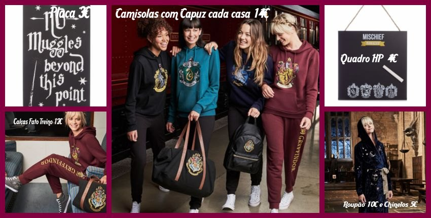 Coleçao Primark Harry Potter_BD