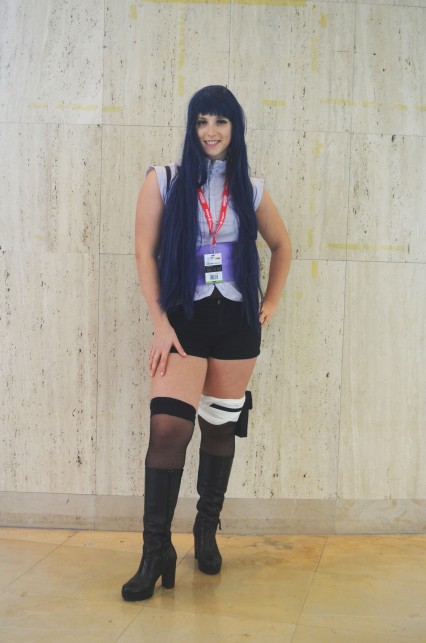 Cosplay Hinata de Naruto The Last Movie