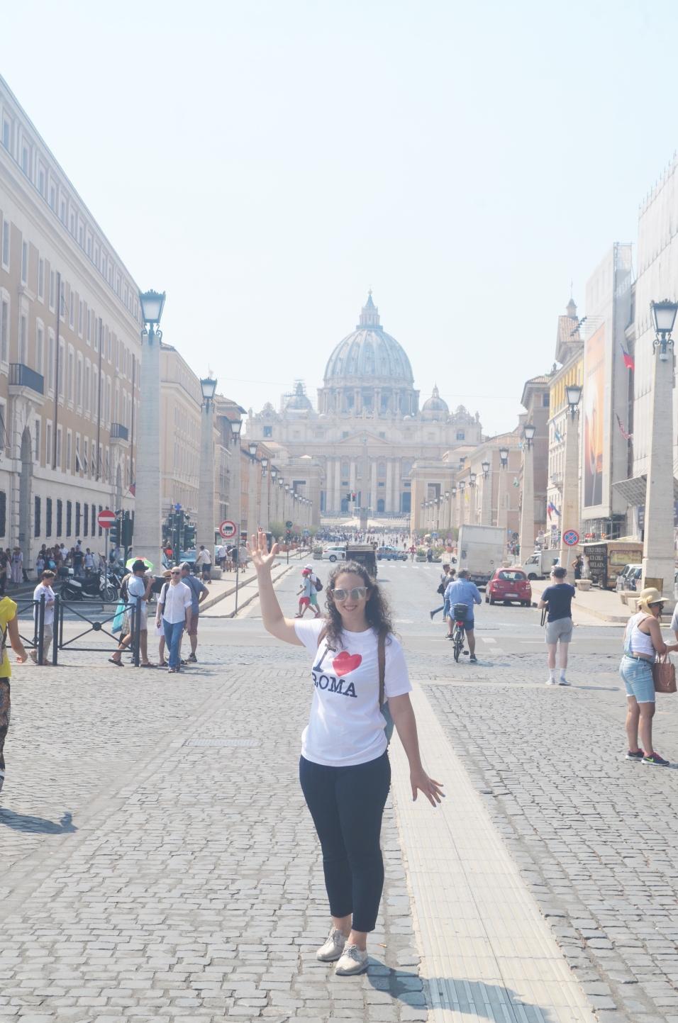 A caminho do Vaticano