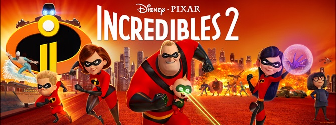 The Incredibles 2: OsSuper-Heróis