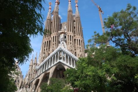 Sagrada Família, ainda em construção