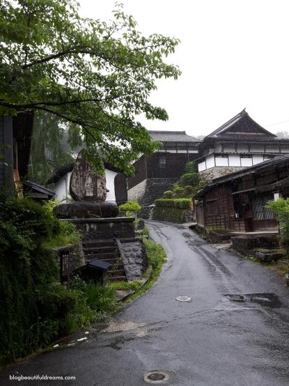 Tsumago - Nem o dia de chuva estragou esta bela paisagem