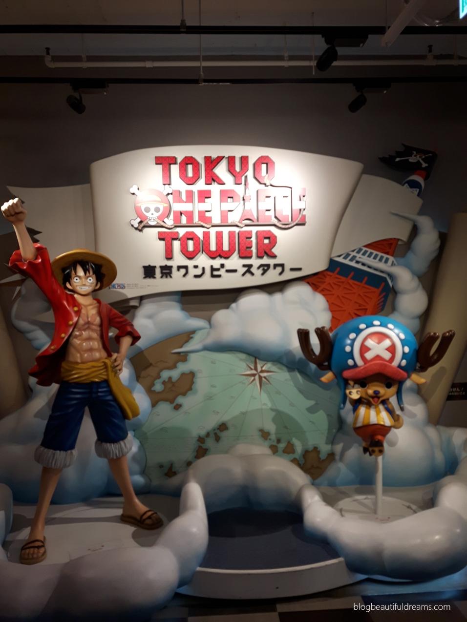 Entrada do museu de One Piece