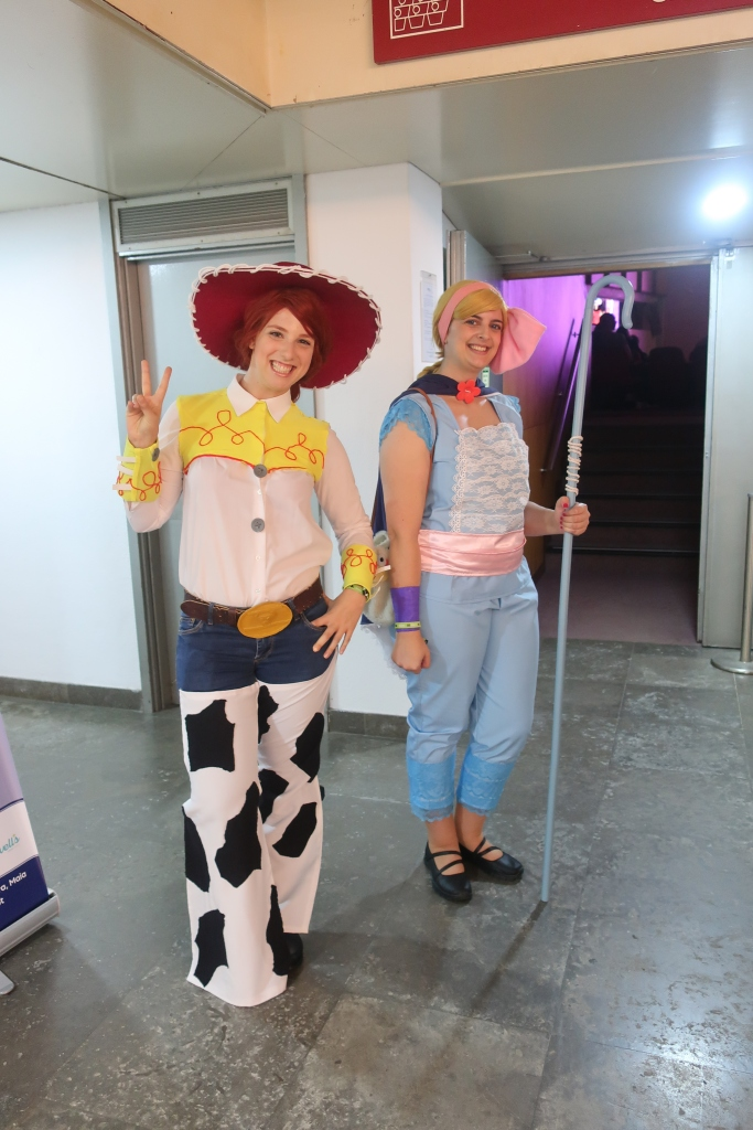 Jessie e Bo Peep Toy Story cosplay- blogbeautifuldreams