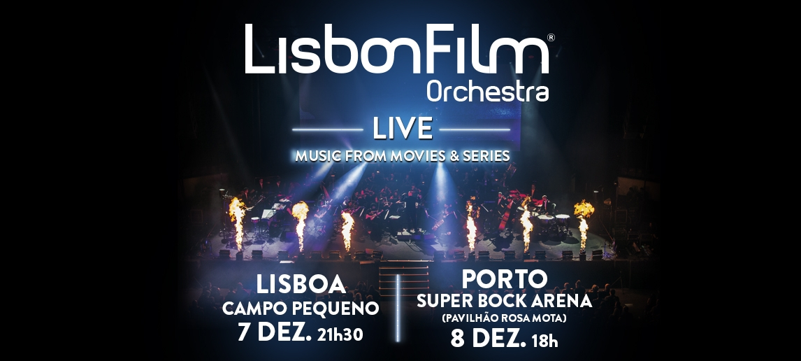 Lisbon Film Orchestra – Music from Movies and; Series